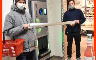 """Kreisjugendring erhält Pfandspende für Projekt """"Mix dein BLAPF"""""""