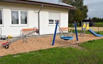 Spielplatz auf dem Sportgelände in Bellamont wird mit 400€ aus dem BLAPF- Fonds unterstützt